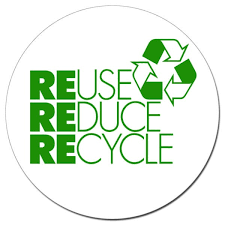 """Reduce Reuse Recycle"""