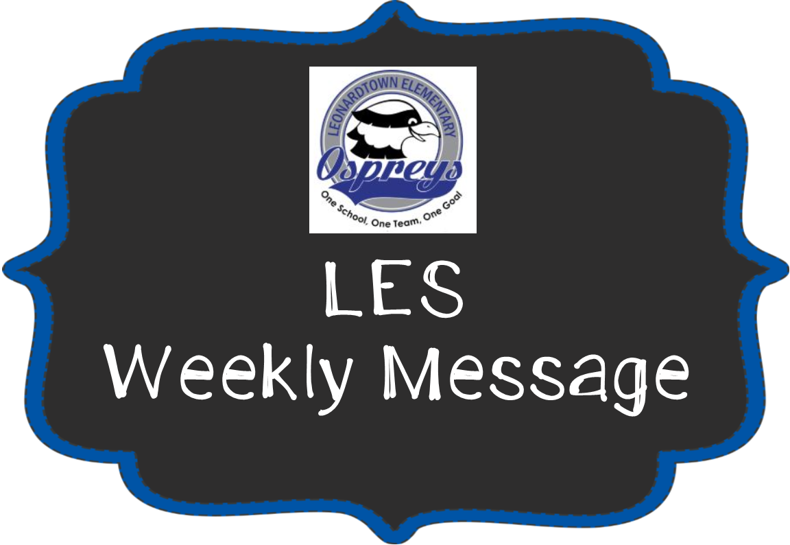 LES Weekly Message