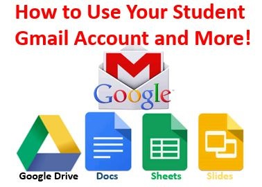 """How to use your student Gmail account and more!"""